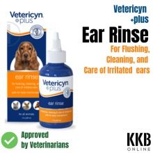 Dog EAR CLEANER Vetericyn plus Vet recommended cleaning solution