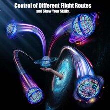 FLYNOVA PRO Flying Spinner ball Boomerang mini UFO drone Kids Gift