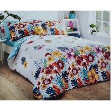 Tropical Island Duvet set Double With Pillowcase