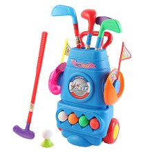 deAO Young Golfers Fun Beginners Golf Club Play Set Kit for Kids
