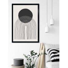 Oxford Black Photo Frame A2 / A3 / A4 / A5 Poster Print Frame