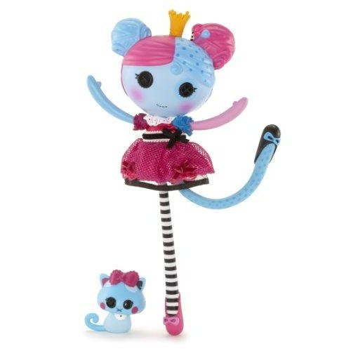 "Large 14/"" Lalaloopsy Lala Oopsies Princess Anise Doll with Kitty New"