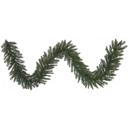 9 ft. x 14 in. Durango Spruce Christmas Tree with Garland 240 Tips Light