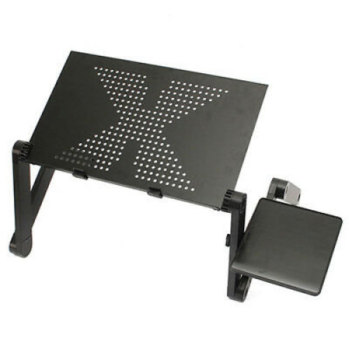 Folding Vented Adjustable Laptop Tray Table