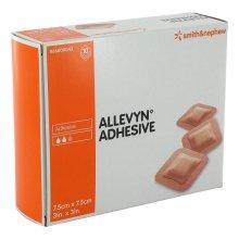 Allevyn Adhesive Dressings Size 7.5cm x 7.5cm x 10 Dressings