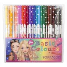 Top Model 006710–Pack of 24Pencils, Multi-Colour