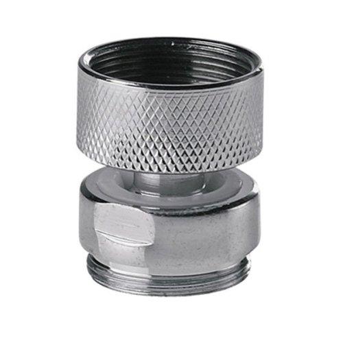 Swivel Metal Adaptor for Water Kitchen Tap Aerator M22x22mm Female X Male