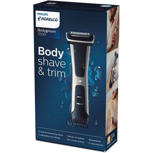 Philips Norelco Bodygroom 7000 Body Shave & Trim BG7030/49 Lithium Ion Power Groomer