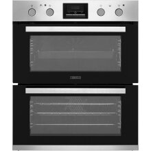 Zanussi ZOF35802XK Built Under Double Oven - Stainless Steel