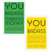 Jen Sincero You are a Badass 2 Books Collection Set