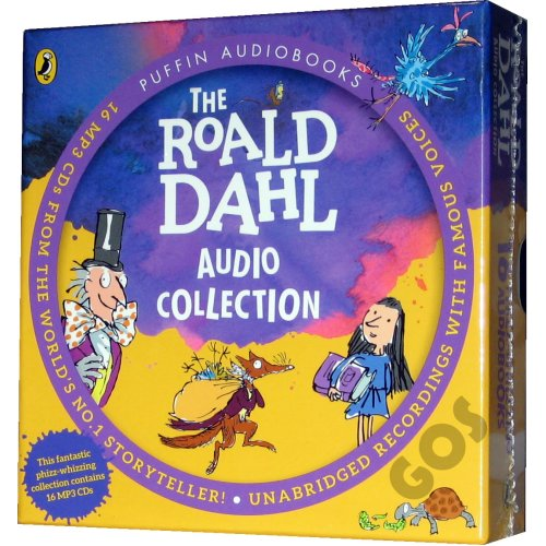 Roald Dahl Audio Book Collection on MP3 CDs 16 Children's Stories