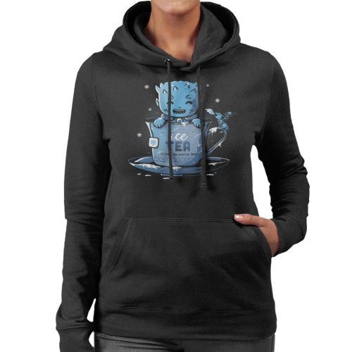Ice Tea Cute Game Of Thrones Women's Hooded Sweatshirt