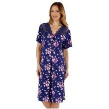 Slenderella GL55702 Women's Gaspe Floral Nightdress