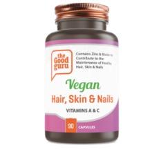 Vegan Hair, Skin & Nails Supplements, No Added Sugar, Gluten-free