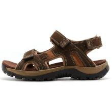 Caterpillar Giles Leather Sandals in Dark Brown P716654 [UK 6  EU 40]