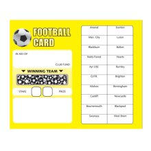 Football Fundraising Scratchcards 10 Pack