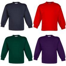 Maddins Baby Unisex Coloursure Pre-School Crew Neck Sweatshirt