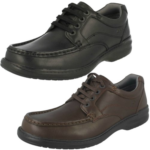 Mens Clarks Casual Shoes Keeler Walk - H Fit