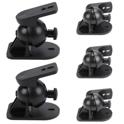 5 Surround sound speaker brackets Wall mount for Bose - Set of 5 blac