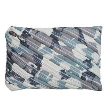 ZIPIT Camo Big Pencil Case Grey Camouflage