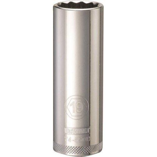 Stanley Tools 227947 19mm Deep Socket - 0.5 in. Drive