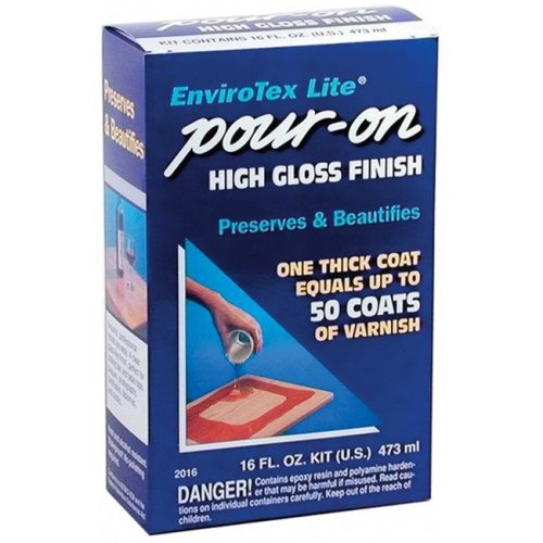 Environmental Technologies ETI02016 EnviroTex Lite Pour-On High Gloss Finish