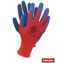 12 PAIRS OF NEW LATEX COATED WORK GLOVES