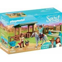 Playmobil Spirit 70119 Riding Arena with Lucky & Javier
