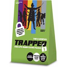 Trapped Scape Room Game Carnival Scape Room at Home Family Board Game