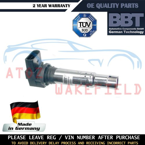 SEAT LEON 1.4 1999-2010 IGNITION COIL PACK PENCIL TYPE **OE QUALITY**