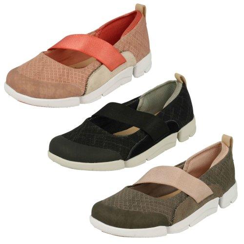 Ladies Clarks Casual Fashion Sports Shoes Tri Allie - D Fit