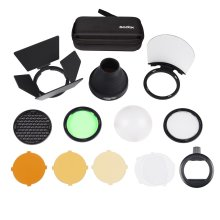 Godox S-R1 Flash Speedlight Adapter Round Head Adapter with AK-R1 Accessory Kit Included