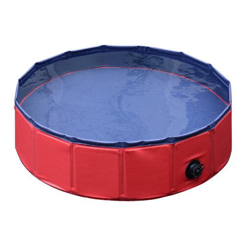 PawHut Pet Pool – 80 x 20 cm | Dog Paddling Pool