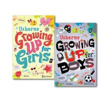 Usborne Growing up for Boys and Girls Collection 2 Books Set Children's Pack NEW