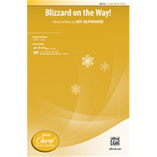 Alfred 00-38280 BLIZZARD ON THE WAY-STRX CD