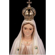 Our Lady of Fatima Statue Religious Figurine Virgin Mary Classic Paint
