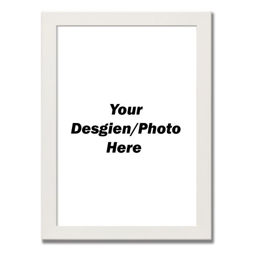(White, A3 - 420x297 mm) A1 A2 A3 A4 A5 A6 Black Photo Frames White Frames