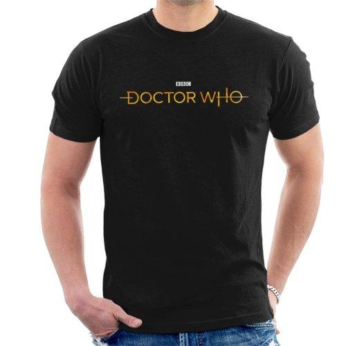 Doctor Who Hero White Logo Men's T-Shirt