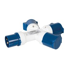 Silverline Plugs & Sockets 16A 3-Way Splitter 240V ( UK )