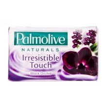 18 x 4pk Palmolive Soap Irresistible Touch Black Orchid 100g each
