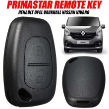 Traffic Primastar Fob Case Remote Key For Renault Opel Vauxhall Nissan