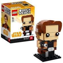 LEGO UK - 41608 BrickHeadz Han Solo Star Wars figure