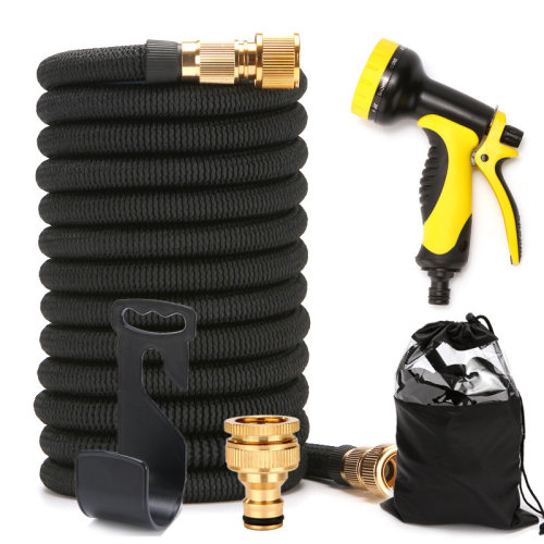 (50ft) Expandable Garden Hose With Double Core Latex