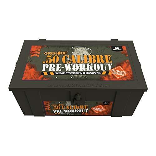 Grenade 50 Calibre Pre-Workout Devastation - Ultimate Orange, 50 Servings, 580 g