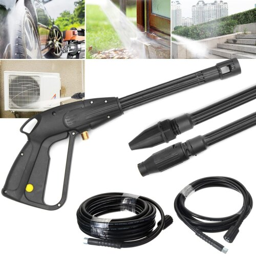 High Pressure, Washer Spray Nozzle, Water Guns With Extension Jet Hose Connector