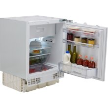 Bosch Serie 6 KUL15AFF0G Integrated Under Counter Fridge with Ice Box - Fixed Door Fixing Kit - White