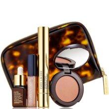 NEW ESTEE LAUDER Bronze & Glow 3 Minute Beauty Gift Set 4 Pieces + Cosmetics Bag
