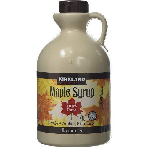 Kirkland Maple Syrup - 2 x 1Ltr
