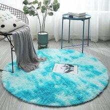 Fluffy Circular Rug | Circular Polyester Bathmat