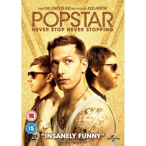 Popstar - Never Stop Never Stopping DVD [2016]